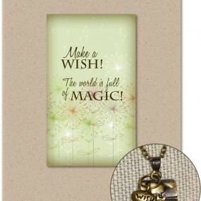 Bronze Wish Box Giftable Card